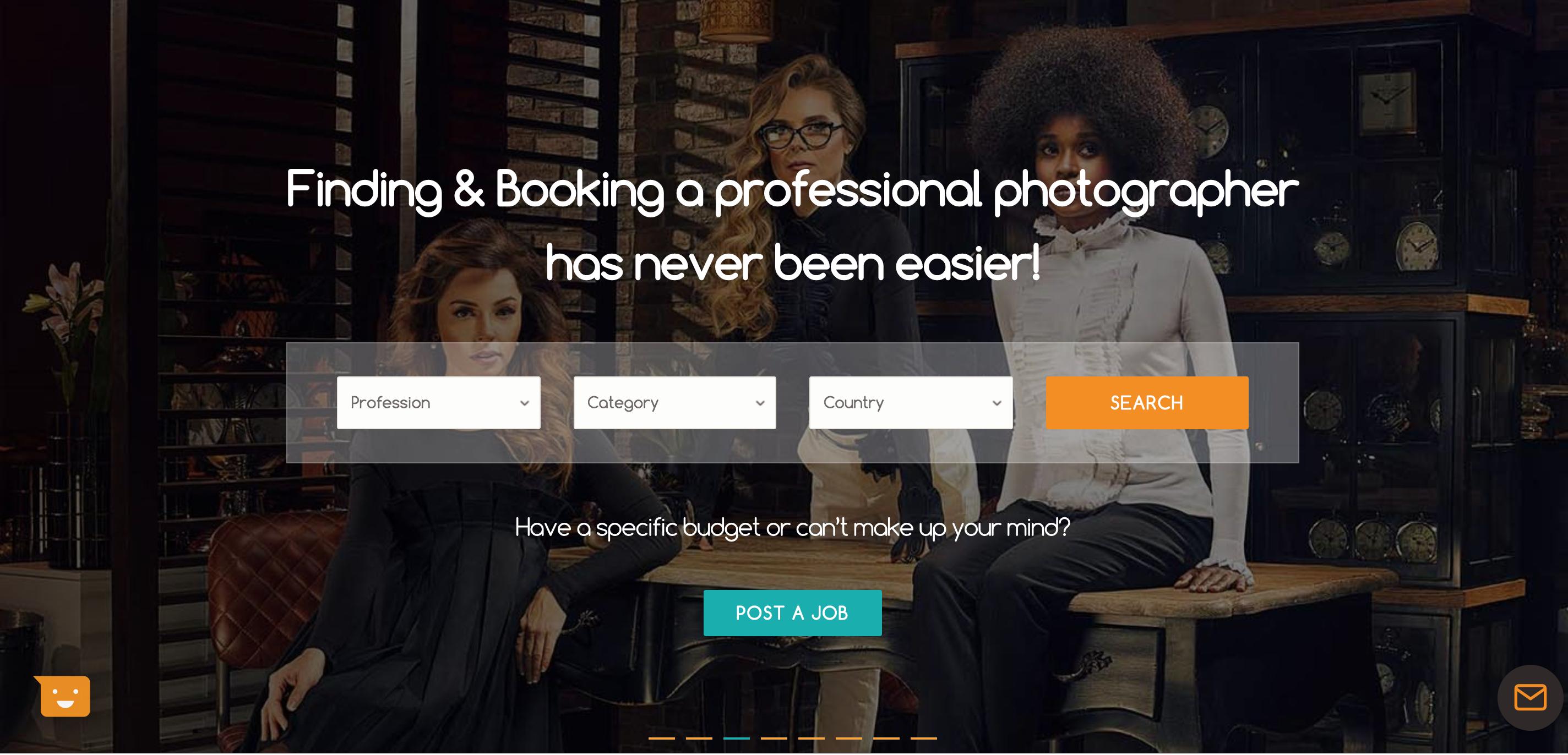 مصور.. شركة ناشئة في مهمة لإيصال المستخدم بالمصور الاحترافي بسهولة